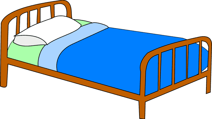 Picture of hospital bed