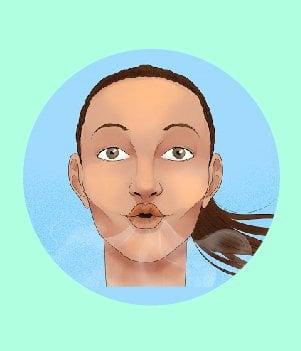 18Pursed lip breathing