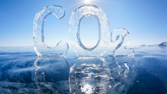 picture of carbon dioxide which is part of the winter's formula